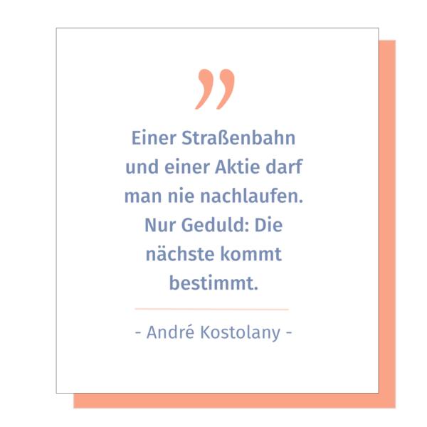 Zitat André Kostolany